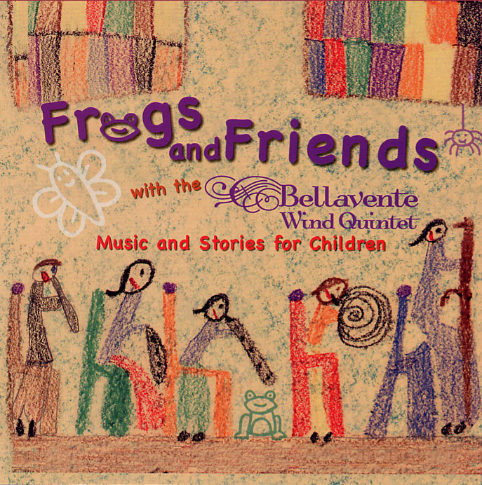 Frogs and Friends Cover