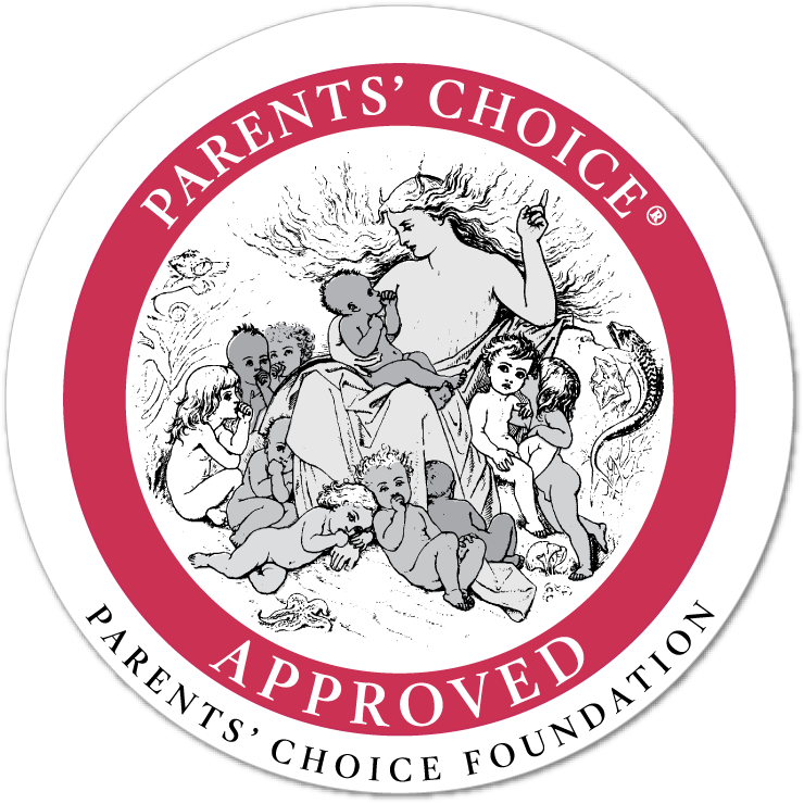 Parents' Choice Approved Award Seal